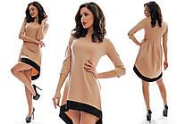 Женское модное  свободное платье
