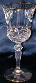 Набор бокалов для вина Aurea с золотом