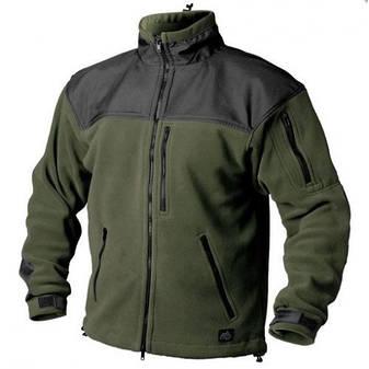 HELIKON-TEХ куртка CLASSIC ARMY флисовая олива/чёрная, фото 2