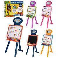 Детский мольберт 3 в 1 Доска знаний 0703 UK-ENG-4
