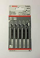 Пилочки для электролобзика Bosh T101B (5 шт.)