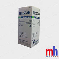 Визуальные тест полоски на сахар в моче, Урискан 19, 50 штук