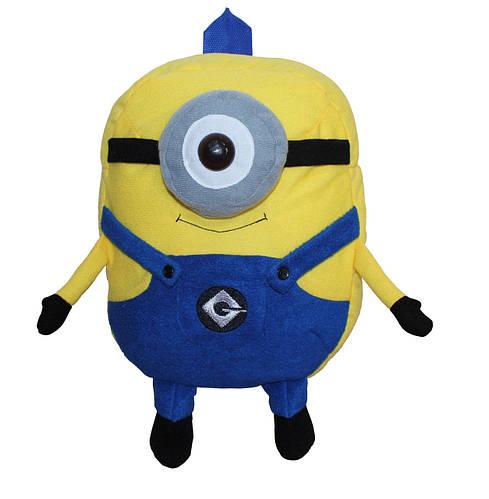 Яркий детский рюкзачок «миньон» миньон желтый