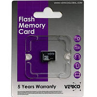 Карта памяти micro-sd 16 Gb Verico