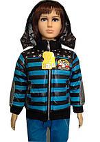 Куртка демисезонная Полосочка, фото 2