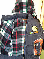 Куртка демисезонная Смайлик, фото 3