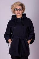 Стильная короткая модная куртка-пиджак Icon №3149