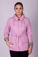 Ветровка-пиджак женская большого размера Janika №5008.