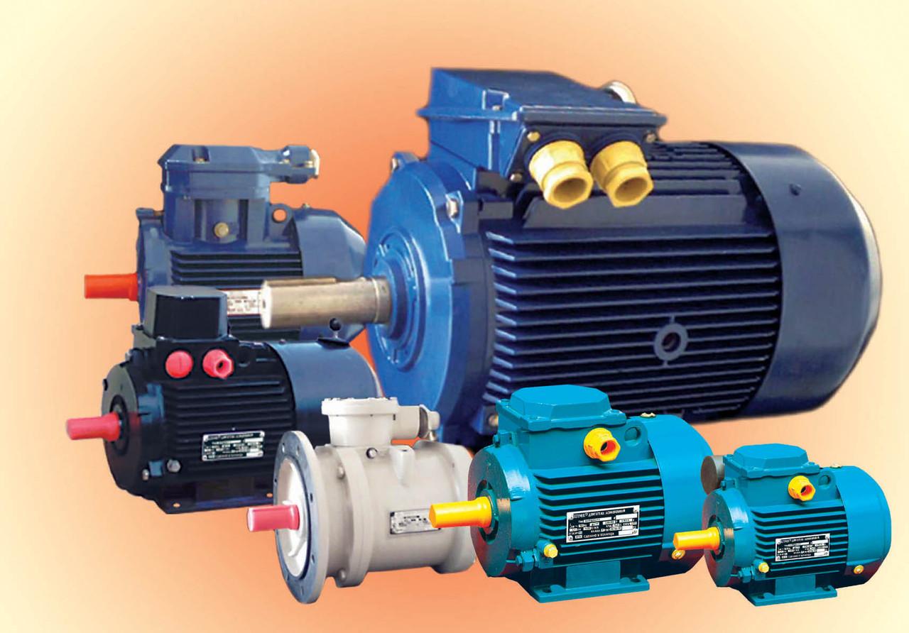 Электродвигатель с повышенным скольжением АИРС71В8 (0,37кВт/750об/мин)