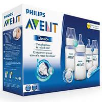 AVENT Набор для кормления новорожденных Classic+ 260мл*2, 125 мл*2, SCD371/00