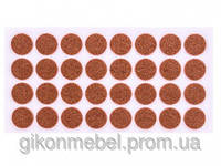Самоклейка мягкая для ножек (круглая) D=24мм