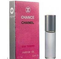 Масленый мини парфюм с феромонами Chanel Chance Eau Tendre (Шанель Шанс Еу Тендр) 7 мл