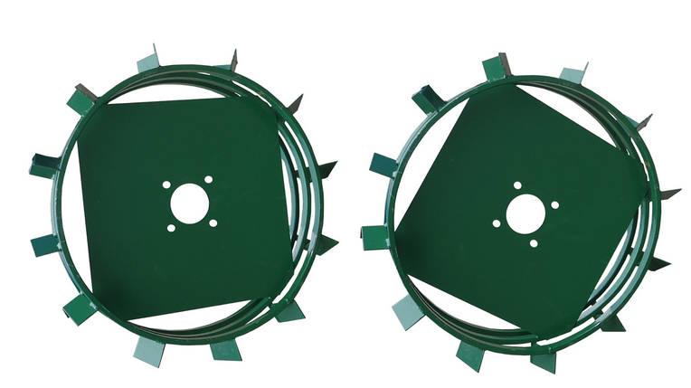 Грунтозацепы к мотоблоку Ø 560/130 мм из полосы АМ, фото 2