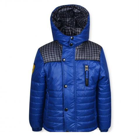 """Стильная качественная куртка """"Ferarry"""" (синяя ) на мальчика."""