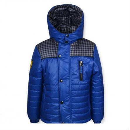 """Стильная качественная куртка """"Ferarry"""" (синяя ) на мальчика., фото 2"""