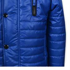 """Стильна куртка якісна """"Ferarry"""" (синя ) на хлопчика., фото 2"""