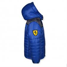 """Стильна куртка якісна """"Ferarry"""" (синя ) на хлопчика., фото 3"""