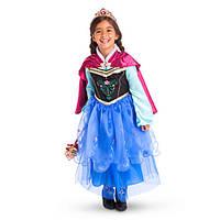 Дисней (Disney) Платье Анны Холодное Сердце 7/8 лет (рост 128см)