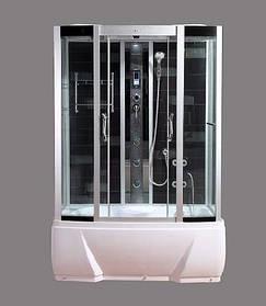 Гидромассажный бокс BADICO SAN 578J N 150x85х215 с джакузи и глубоким поддоном