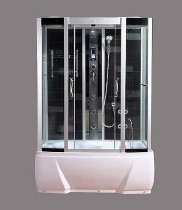 Гидромассажный бокс BADICO SAN 578J N 150x85х215 с джакузи и глубоким поддоном, фото 2