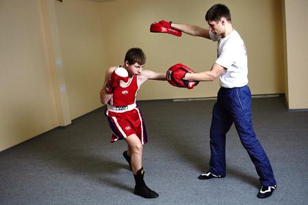 лапы для бокса, лапы гнутые, боксерские лапы, лапы для кикбоксинга