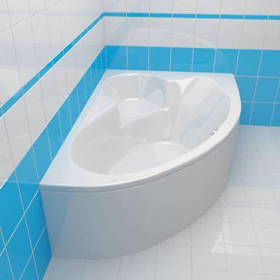 Ванна акриловая Cersanit Kaliope 153x100 (правая), фото 2