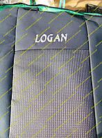 Автомобильные чехлы на сидения Renault Logan 04- (Рено Логан 04-)