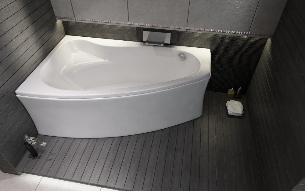 Ванна акриловая Cersanit Sicilia new 140x100 (левая)