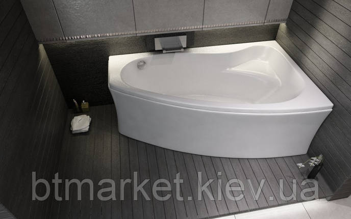 Ванна акриловая Cersanit Sicilia new 170x100 (правая), фото 2