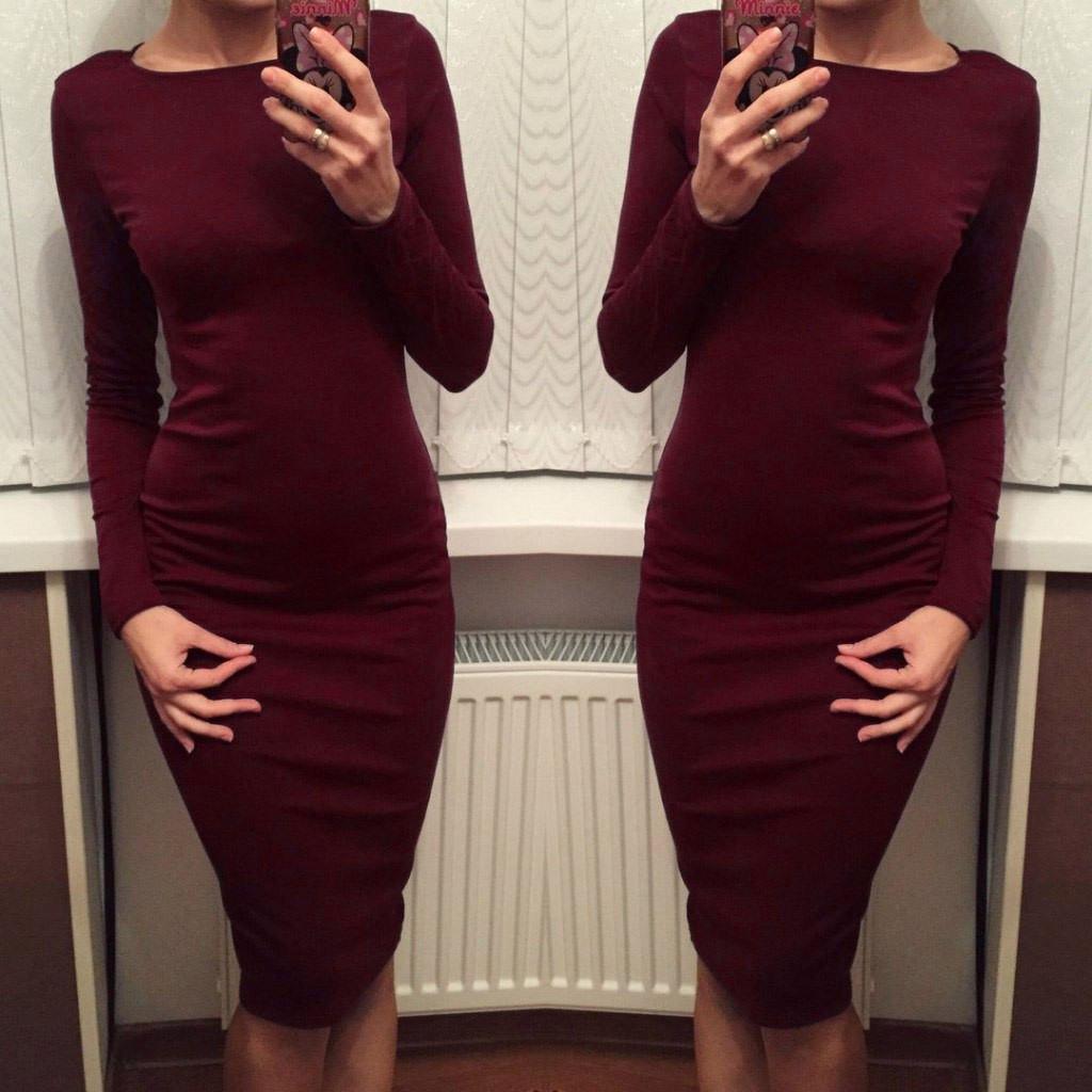 платья обтягивающие фото