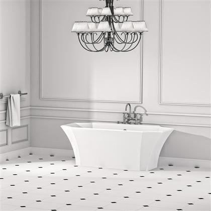 Ванна мраморная Marmorin La Donna 1645x894x600