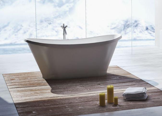 Ванна мраморная Marmorin Pia 160x65 160020010