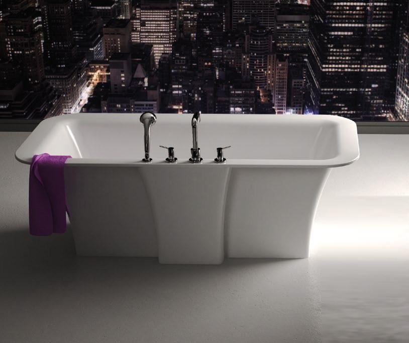 Ванна мраморная Marmorin Tytan 179x89 180 020 010