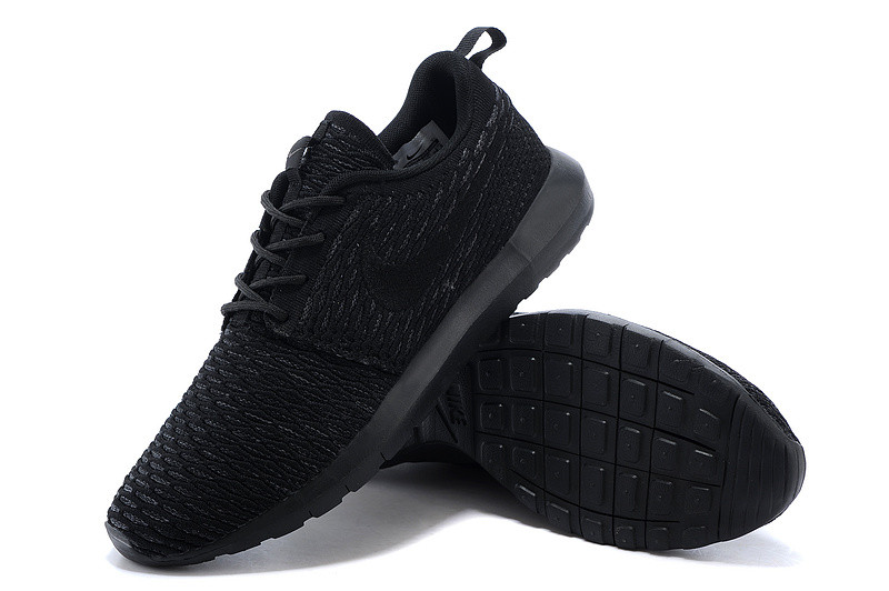 Кроссовки Nike Roshe Run Flyknit Midnight Fog