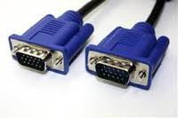 Шнур компьютерный VGA шт.HDB15pin- шт.HDB15pin, с фильт., 1метр