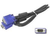Шнур компьютерный VGA шт.HDB15pin- шт.HDB15pin, с фильт., 2метра