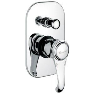 Смеситель для ванной Emmevi TIFFANY бронза Встр BR6019