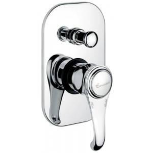 Смеситель для ванной Emmevi TIFFANY хром Встр CR6019, фото 2