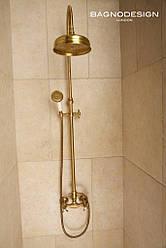 Душевая стойка Emmevi DECO classic душ/колонна бронза BR1200281