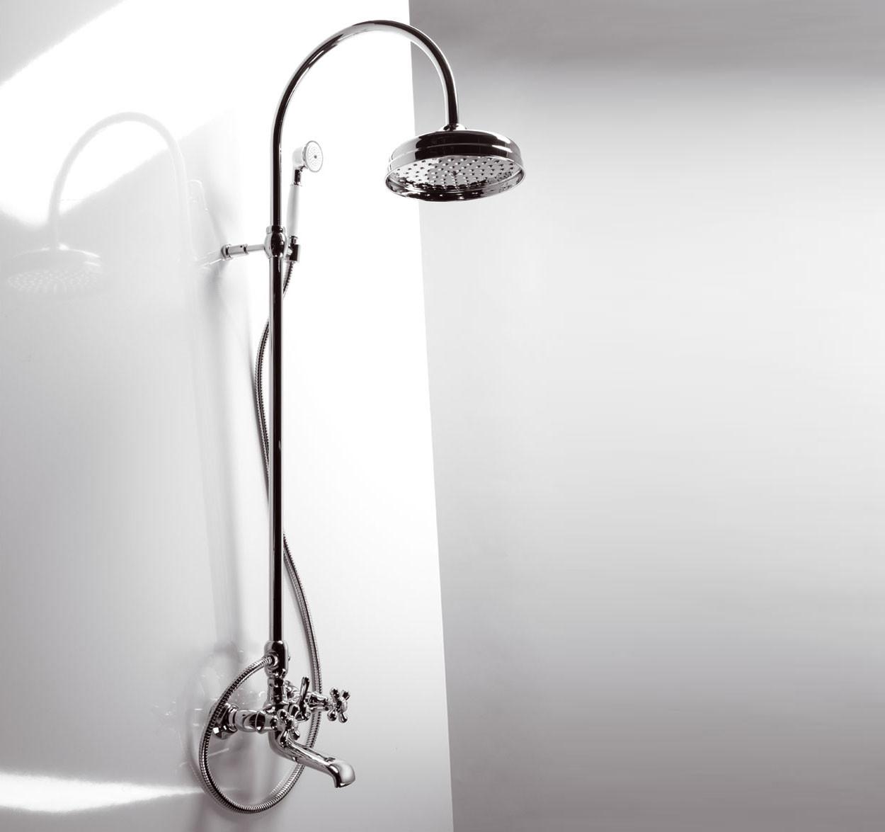 Смеситель для ванной Emmevi DECO classic колонна хром CR1261181