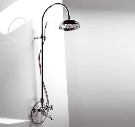 Смеситель для ванной Emmevi DECO classic колонна хром CR1261181, фото 2