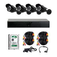 AHD комплекты видеонаблюдения CoVi Security HVK-3001 AHD KIT HDD 500 Гб