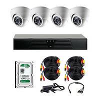 AHD комплекты видеонаблюдения CoVi Security HVK-3003 AHD KIT HDD 500 Гб