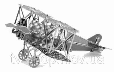 "Металлический конструктор 3D ""Fokker"""
