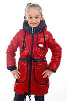"""Куртка демисезонная для девочки """"Люкс"""" , фото 1"""