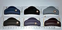 Матовые Заколки крабы для волос со стразиком (12 шт), фото 1