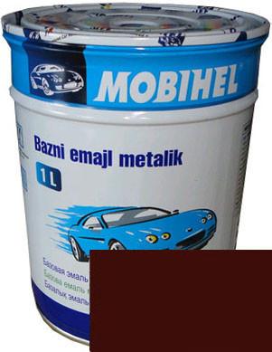 """Daewoo 70U Автоэмаль базовая """"металлик"""" Helios Mobihel """"RED ROCK"""", 1л"""