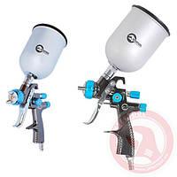 LVLP BLUE NEW Профессиональный краскораспылитель 1,4 мм,INTERTOOL PT-0133