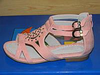 Босоножки для девочки, Детская летняя обувь, Венгерские босоножки для девочки ТМ CSCK.S 33р.