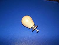 Ручка мебельная дерево на ножке, фото 1